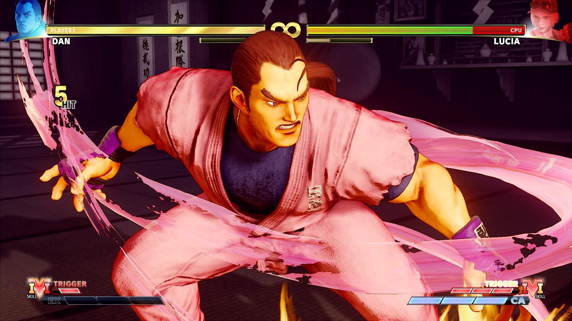 Street Fighter 5 Champion Edition - Dan Hibiki