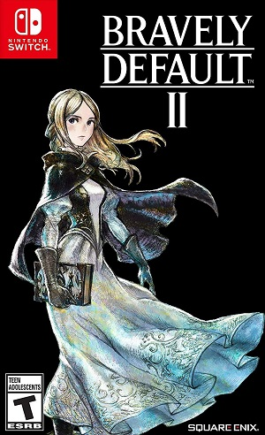 Bravely Default 2 Box Art