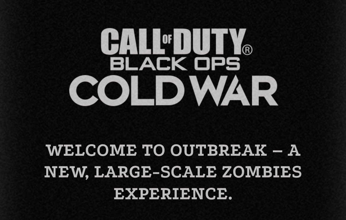 call of duty black ops cold war outbreak