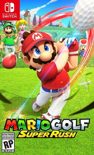 Mario Golf: Super Rush Box Art
