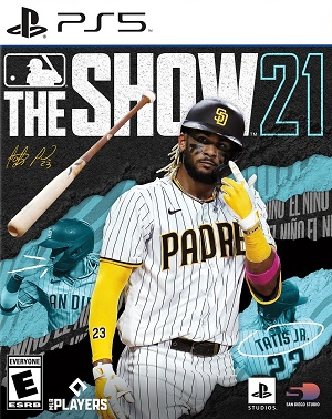 MLB The Show 21 Box Art