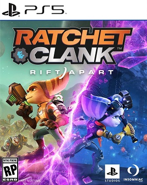 Ratchet and Clank: Rift Apart Box Art