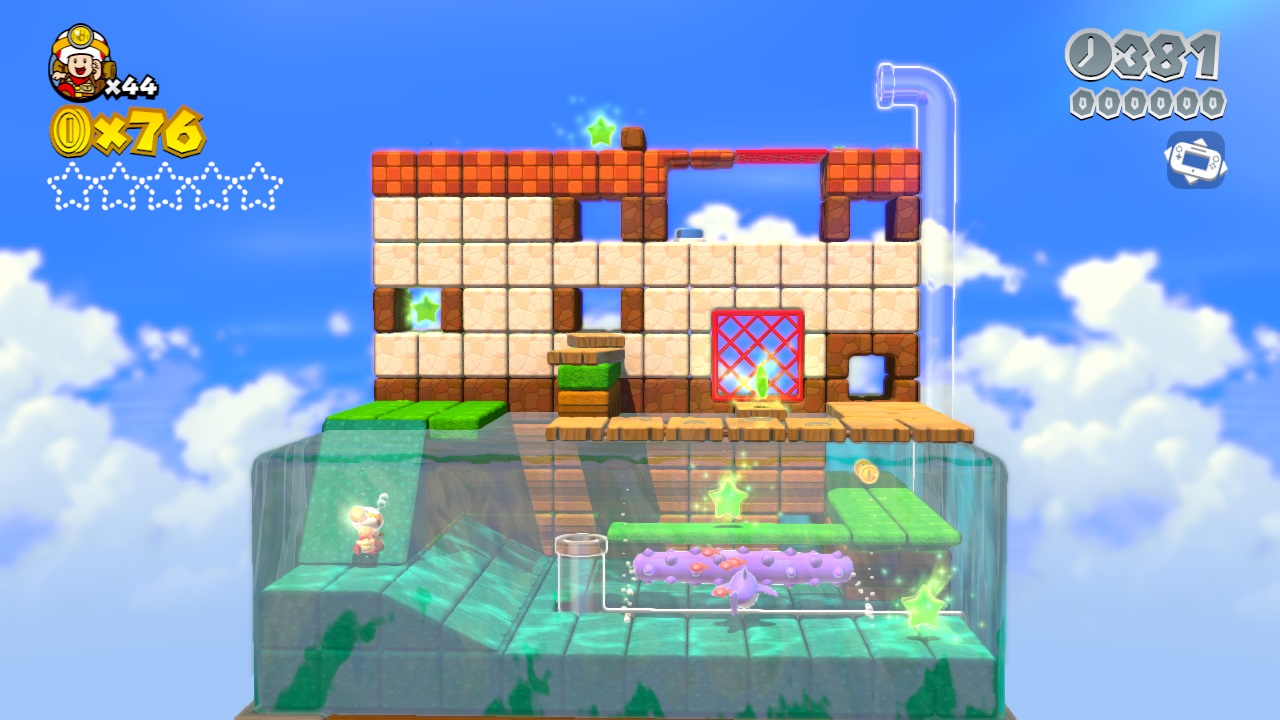 super mario 3d world captain toad