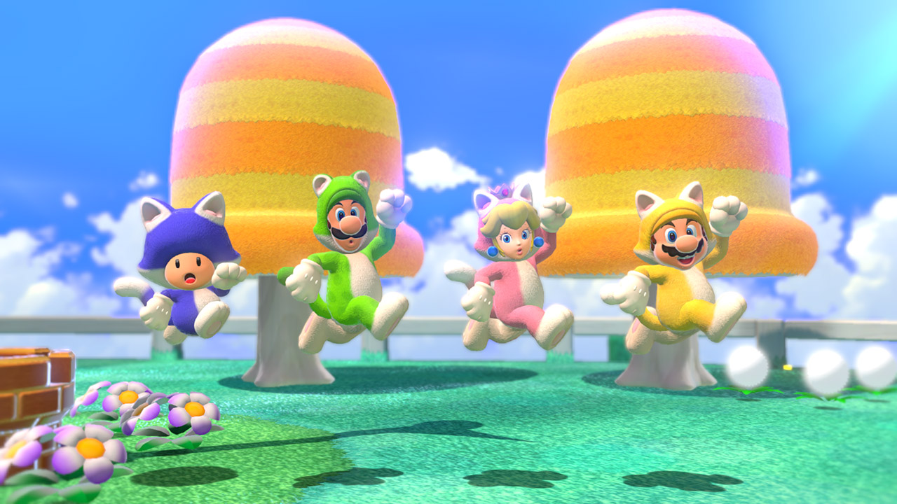 super mario 3d world switch image