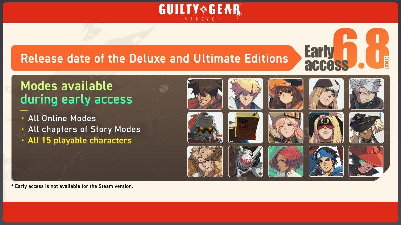 Guilty Gear Strive - Deluxe and Ultimate Edition