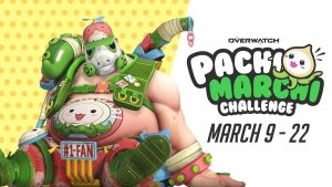 Overwatch PachiMarchi Challenge Includes New Roadhog Skin, Available Till March 22nd thumbnail