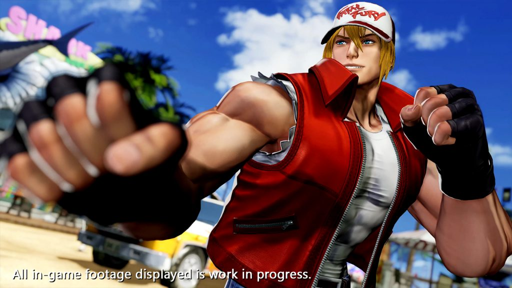 The King of Fighters 15_Terry Bogard