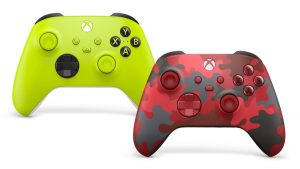 Microsoft Exposes 2 New Controllers, Electric Volt As Well As Daystrike Camo Scandal Sheet, For Xbox Collection X/S thumbnail