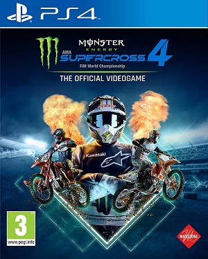 Monster Energy Supercross - The Official Videogame 4 Box Art