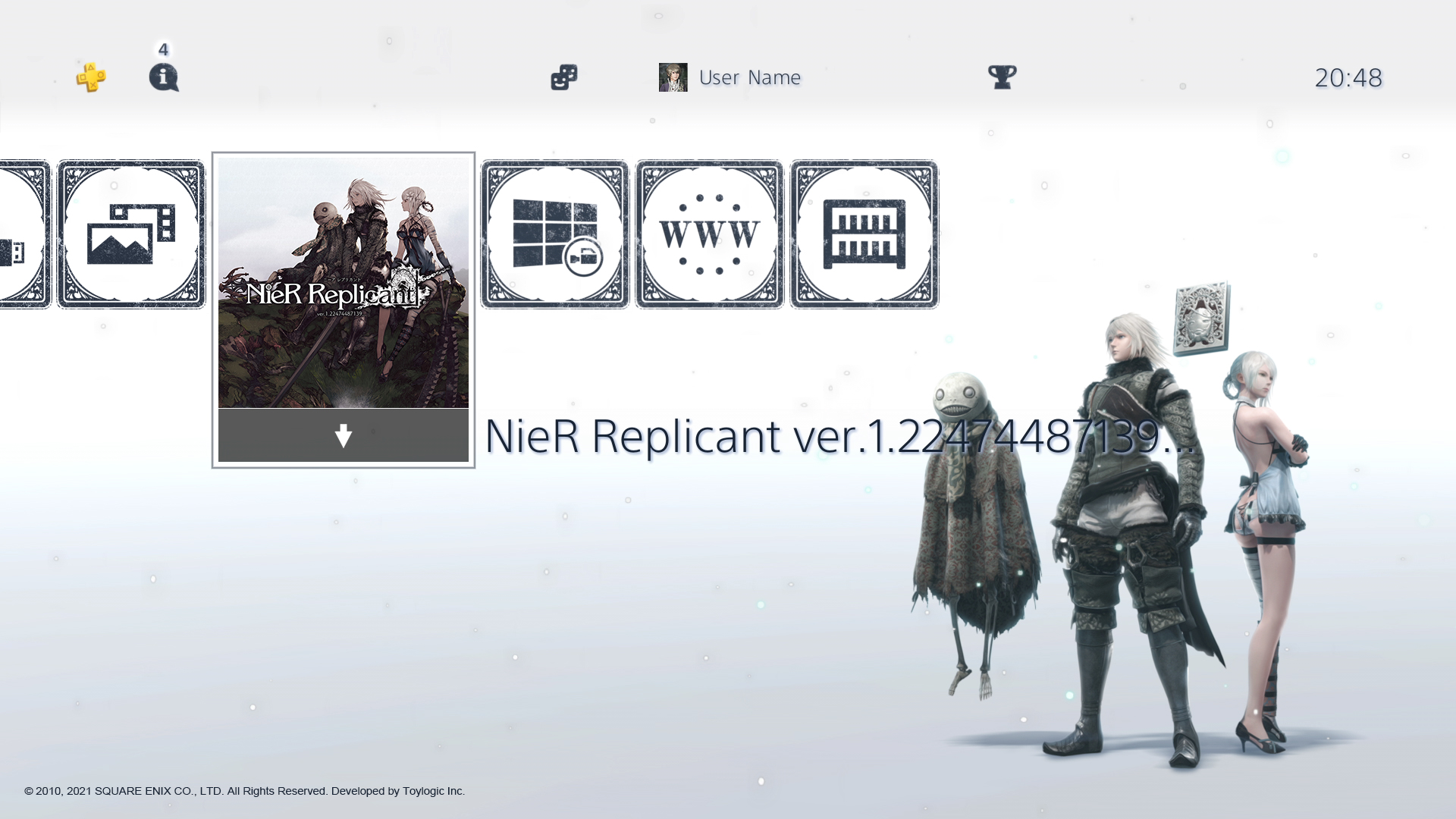 NieR-Replicant-background