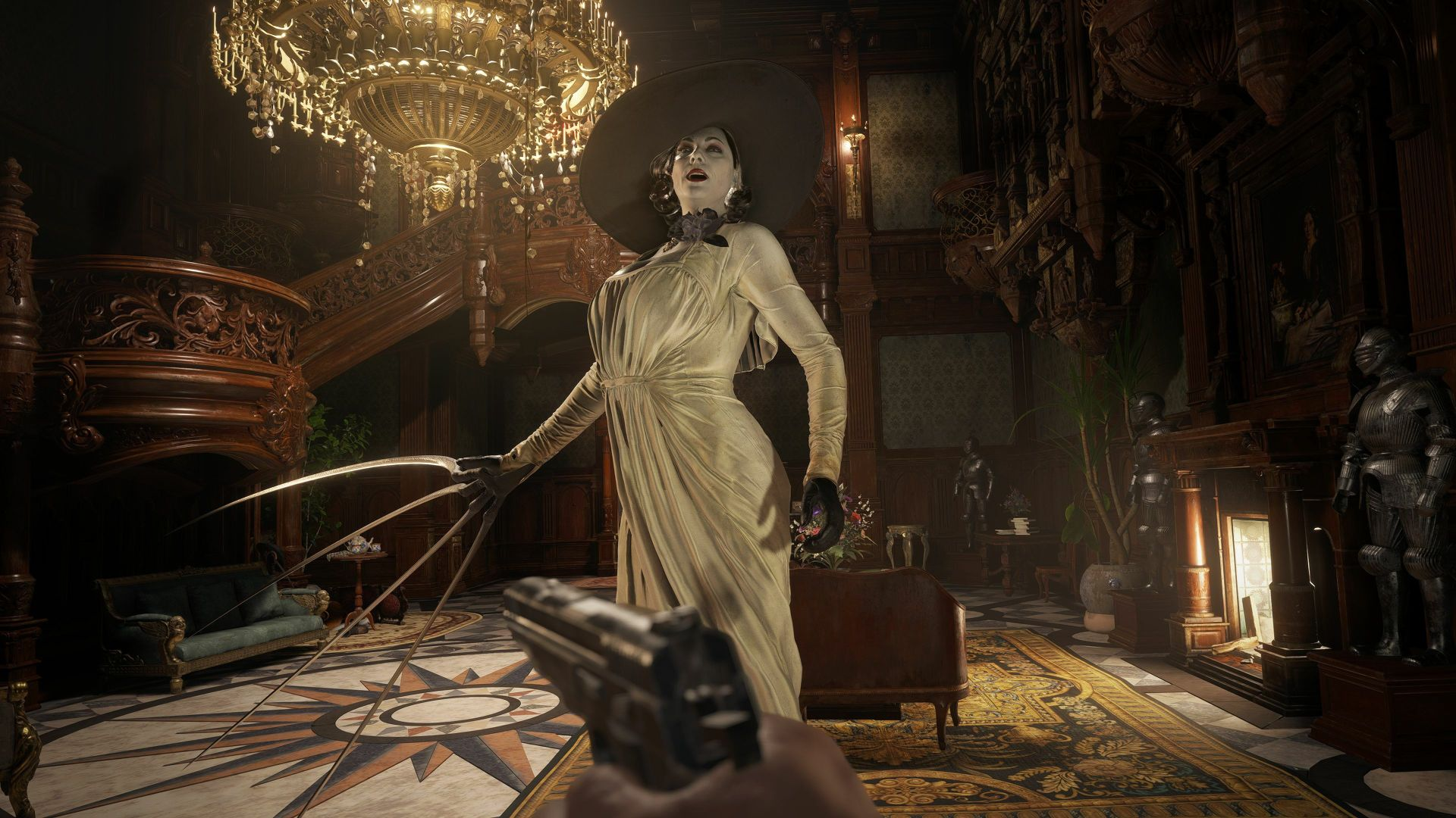 Resident Evil Village – Lady Dimitrescu's Pursuits, Mini-Boss Fights With Daughters Revealed