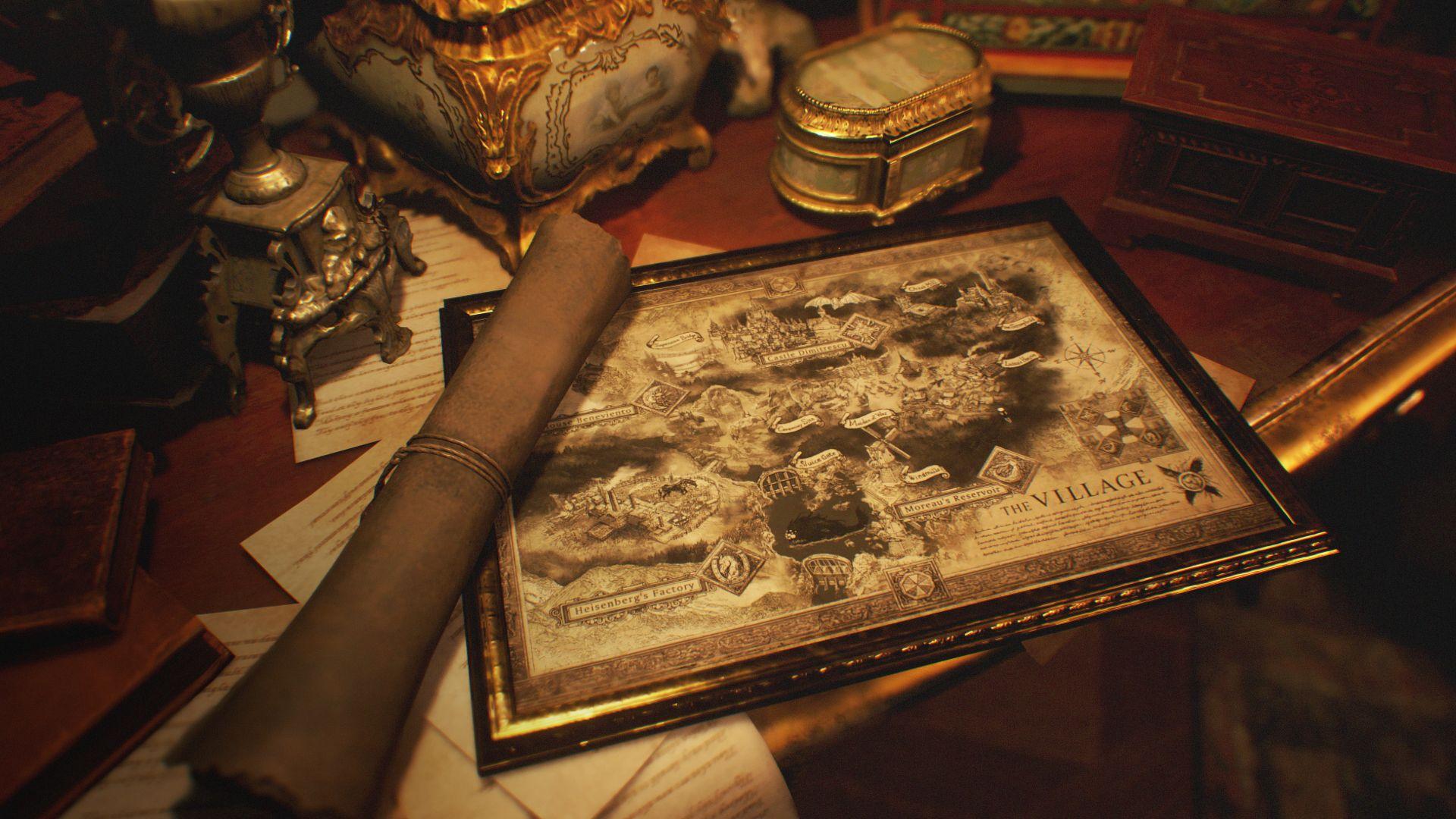 Resident Evil Village - map