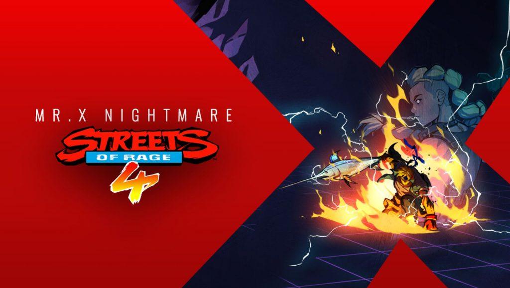 Streets of Rage 4 - Mr X Nightmare
