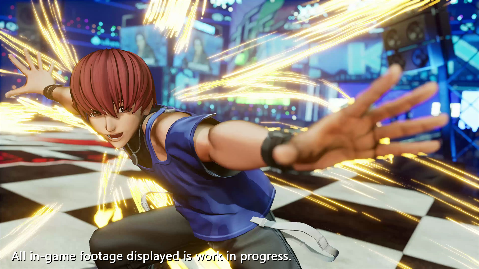 The King of Fighters 15 - Chris