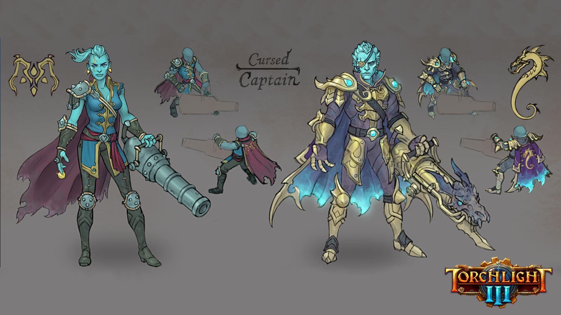 Torchlight 3 - Cursed Captain