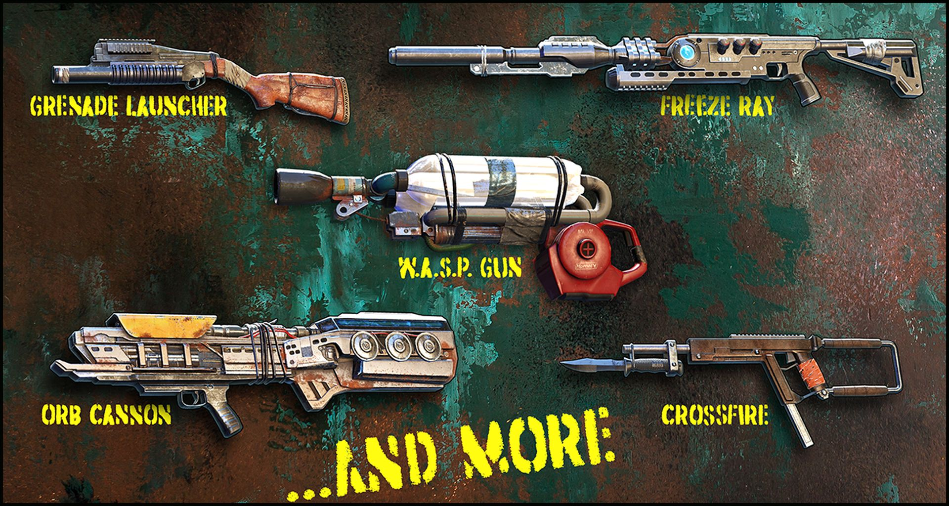 Wasteland 3 - Crafted weapons