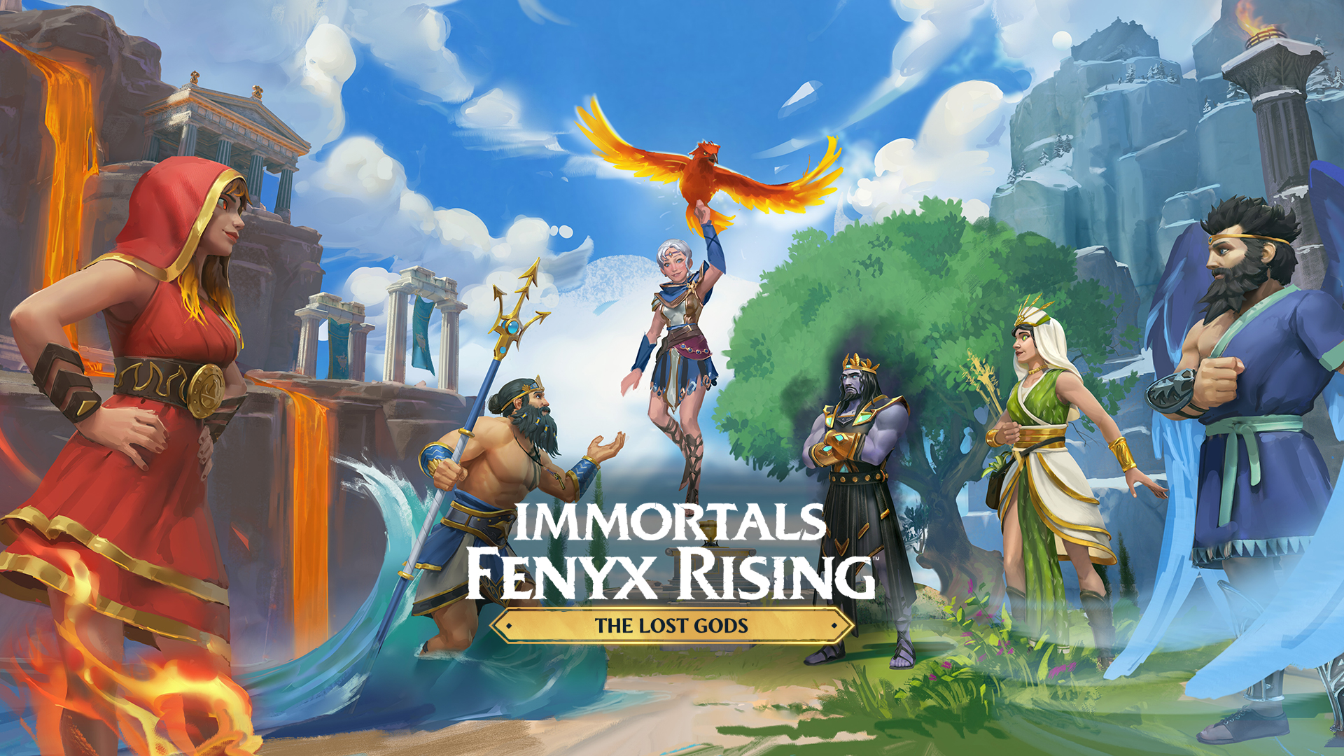 Immortals Fenyx Rising: The Lost Gods Launches April 22
