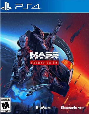 Mass Effect: Legendary Edition Box Art