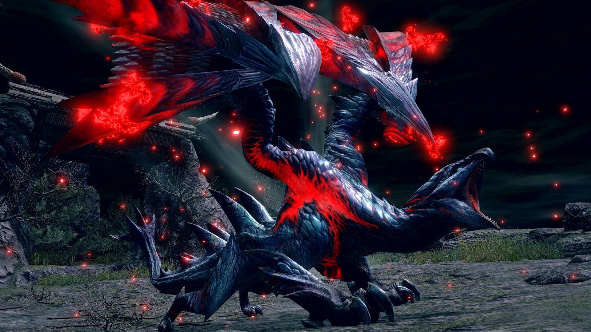 Monster Hunter Rise - Crimson Glow Valstrax