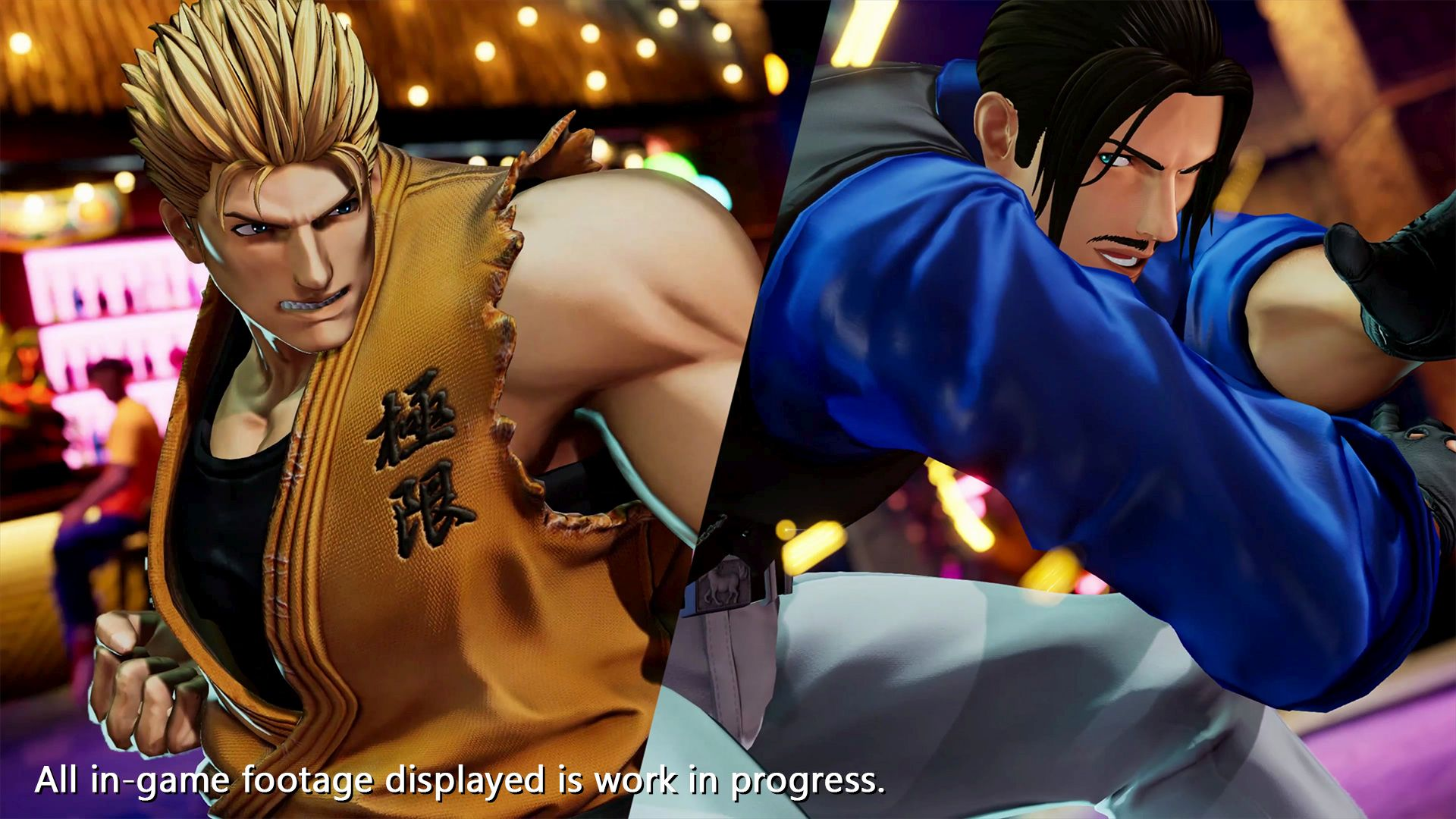 The King of Fighters 15 - Ryo and Robert