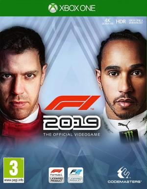F1 2019 Box Art