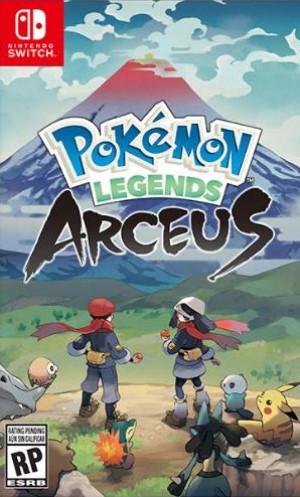 Pokemon Legends: Arceus Box Art