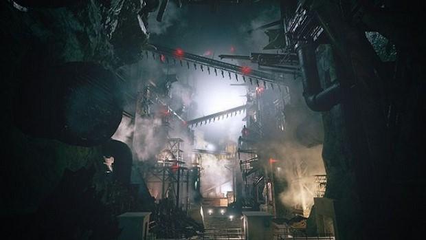 resident evil village heisenberg's factory interior