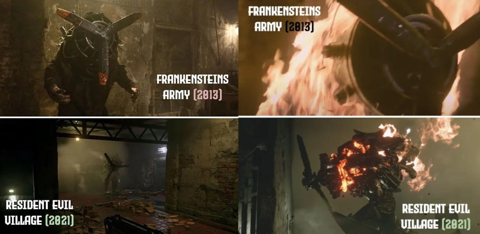 resident evil village monster design plagiarism