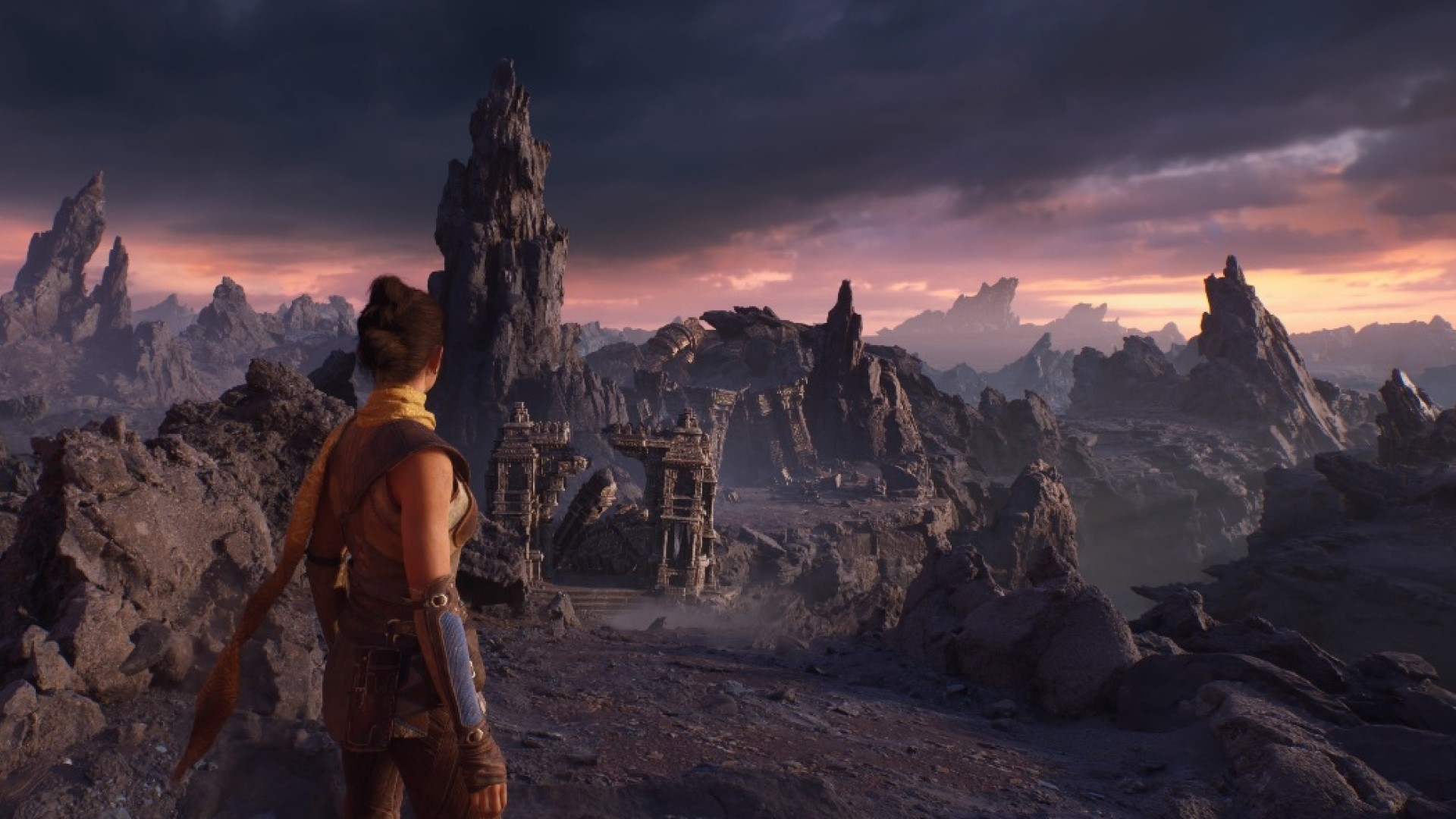 unreal engine 5 valley of the ancients