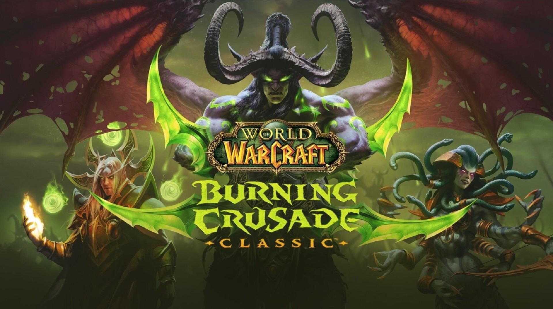 world of warcraft the burning crusade classic