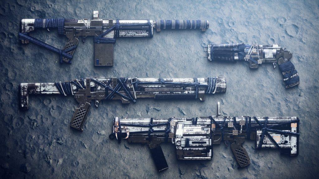 Destiny 2 - Moon weapons