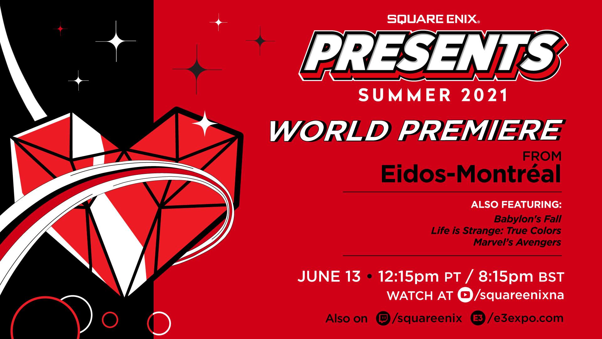 تاریخ کنفرانس E3 2021 شرکت Square Enix مشخص شد|رونمایی از بازی جدید Eidos Montreal!