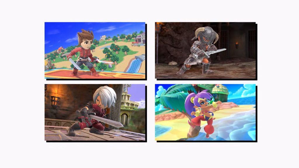 Super Smash Bros. Ultimate - Mii Fighters