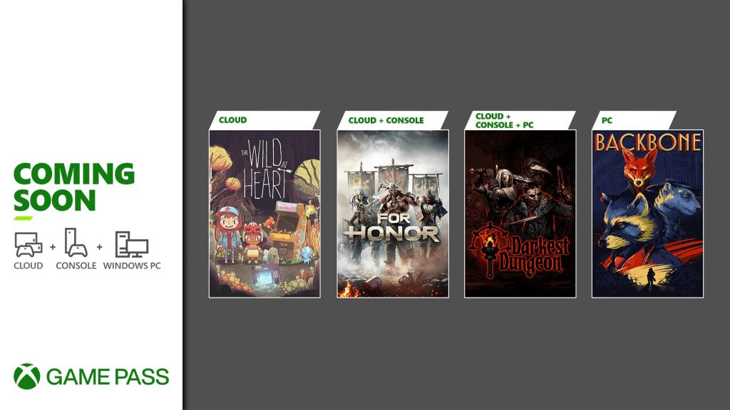 Xbox Game Pass - June 2021
