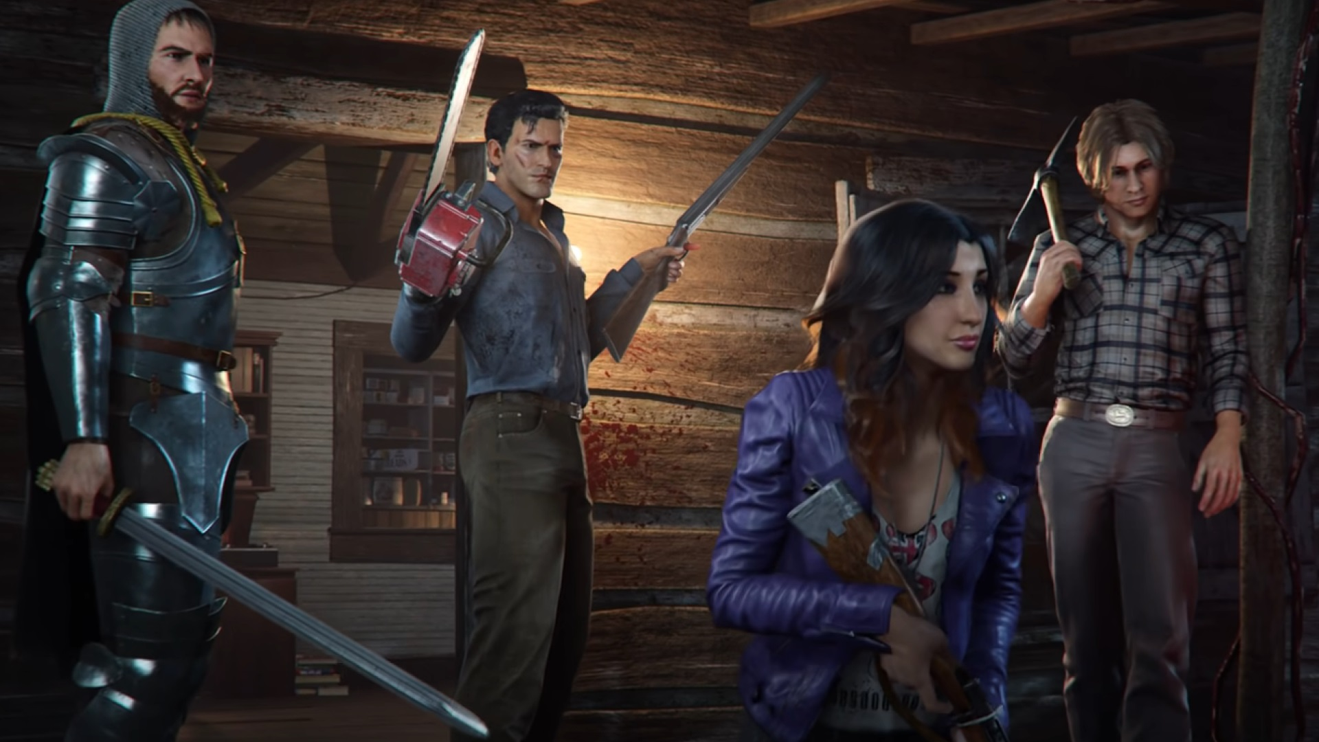 Wickedness Dead: The Video Game Gets Gameplay Review Trailer thumbnail