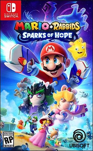 Mario + Rabbids Sparks of Hope Box Art