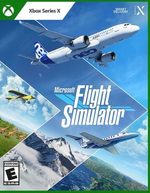 Microsoft Flight Simulator (2020) Box Art