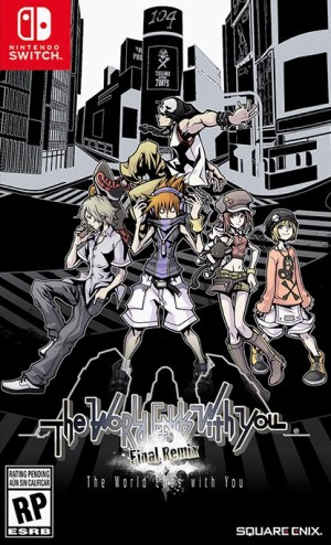 NEO: The World Ends with You Box Art