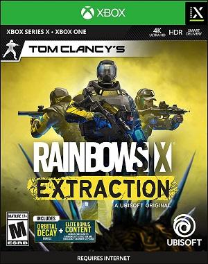 Tom Clancy's Rainbow Six Extraction Box Art