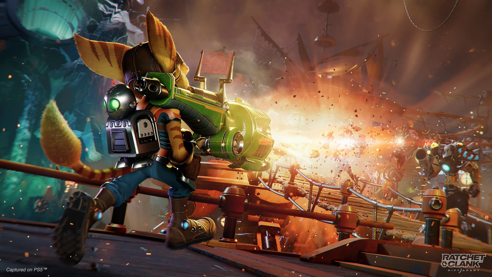 Cog as well as Clank: Break Apart is the 2nd Largest UK Introduce in Collection History thumbnail