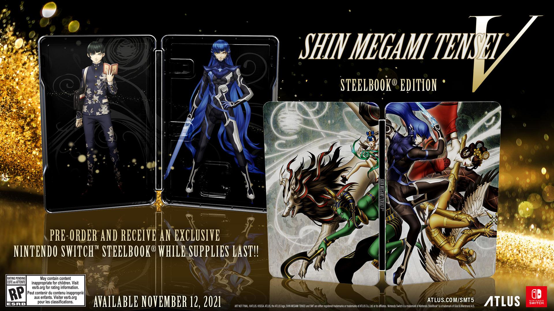 shin megami tensei 5 steelbook edition