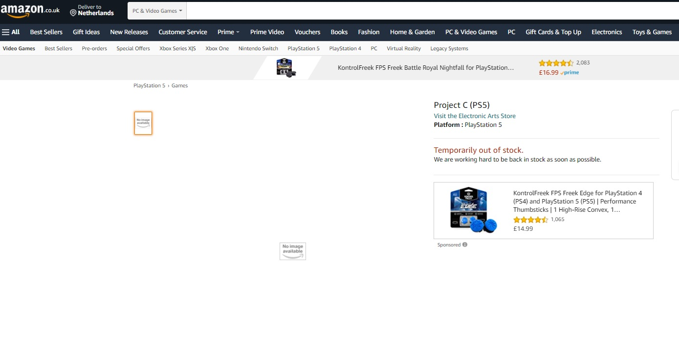 Electronic Arts - Project C_PS5
