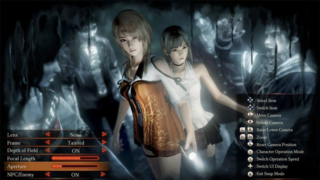 Fatal Frame - Maiden of Black Water_Photo Mode