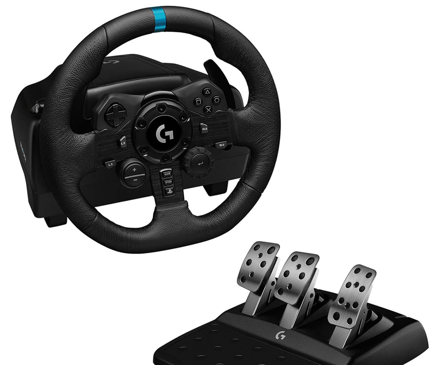 Logitech G923 Steering Wheel and Pedals
