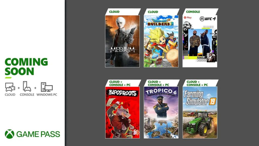 Xbox Game Pass - July 2021