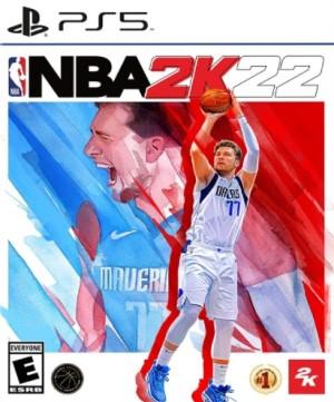 NBA 2K22 Box Art