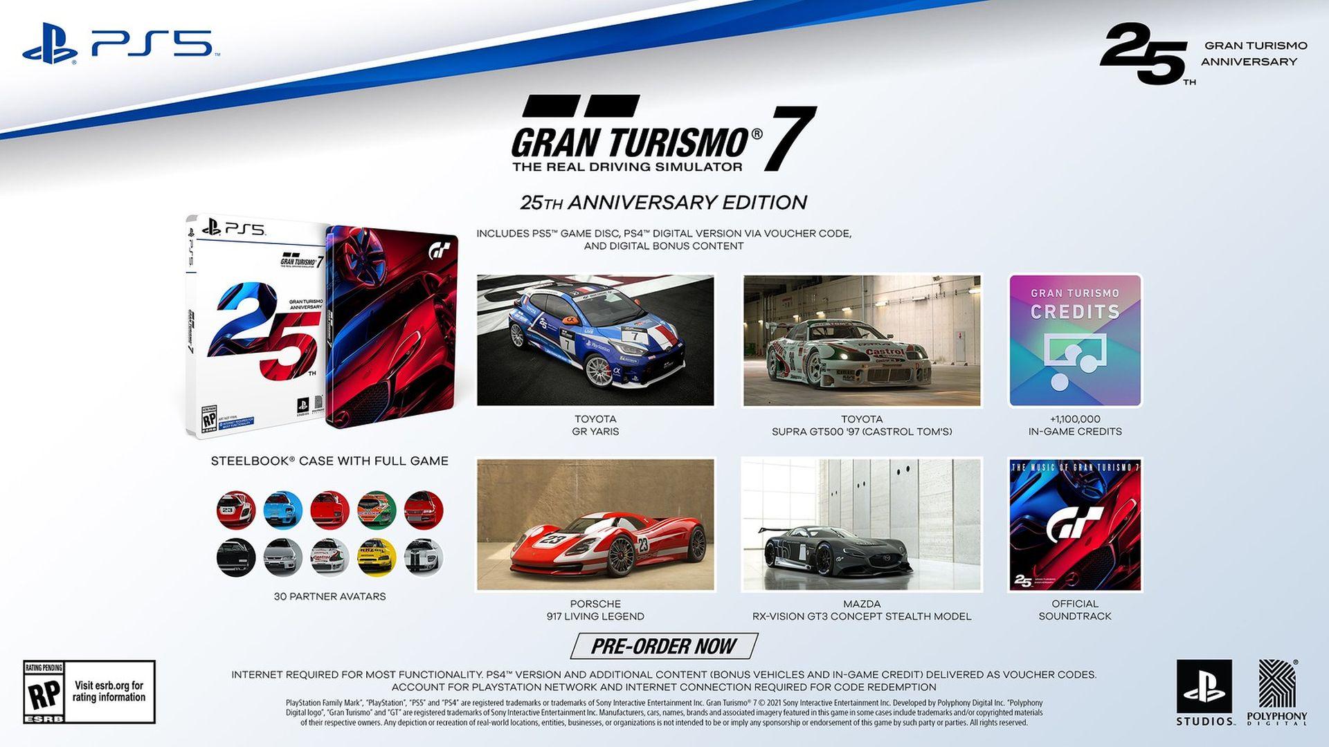 Gran Turismo 7 - 25th Anniversary Edition