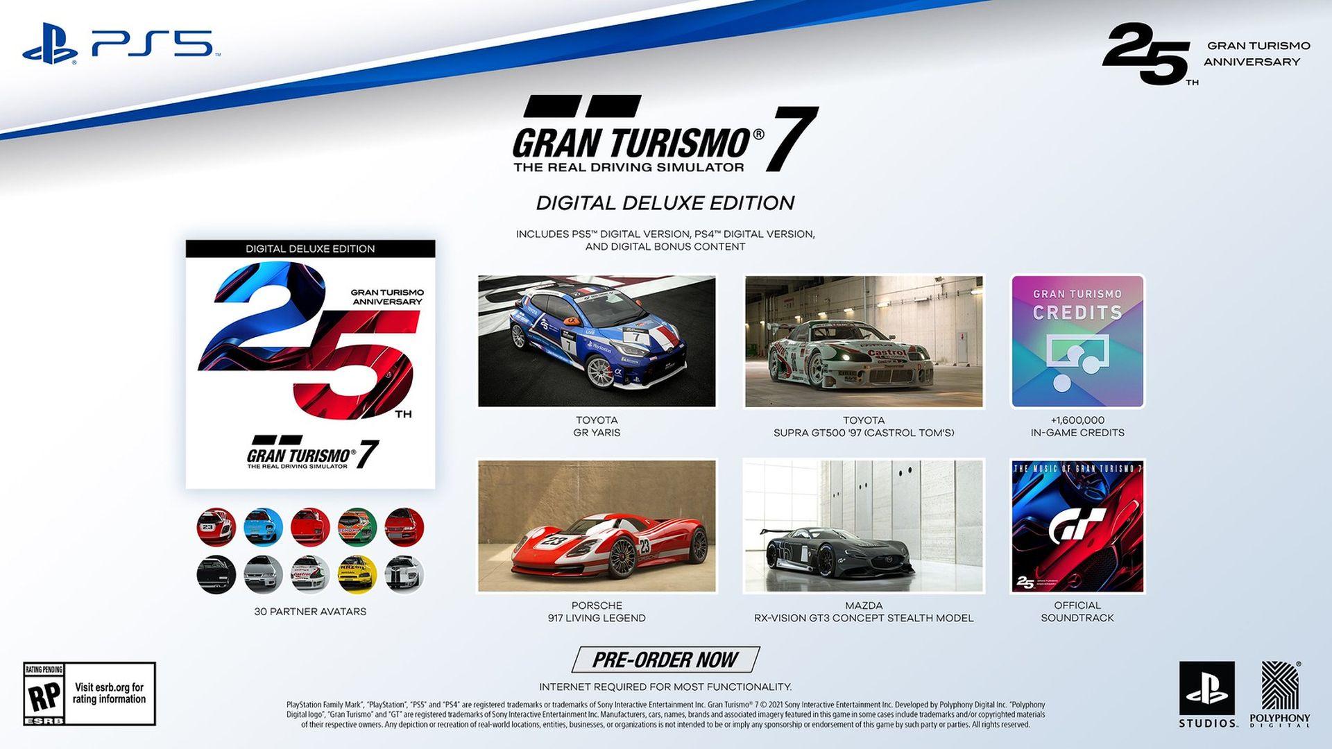 Gran Turismo 7 - Digital Deluxe Edition