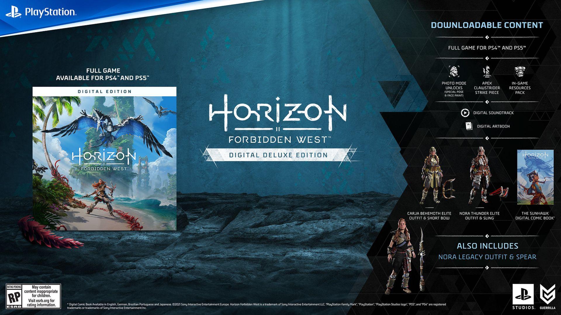 Horizon Forbidden West - Digital Deluxe Edition