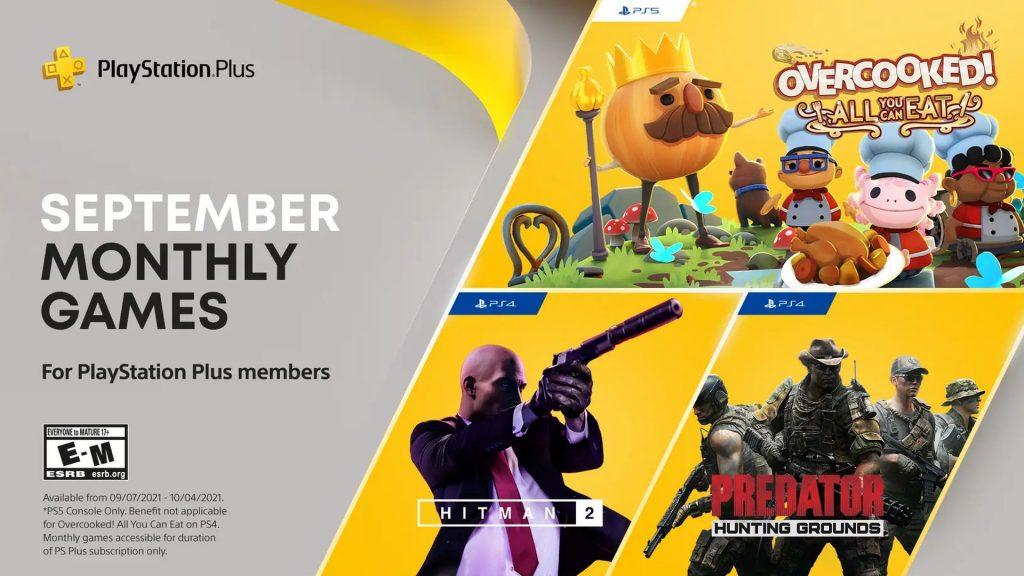 PlayStation Plus - September 2021